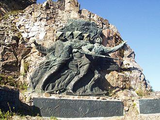 Hartmannswillerkopf - Image: Memorial at Hartmannswillerkopf