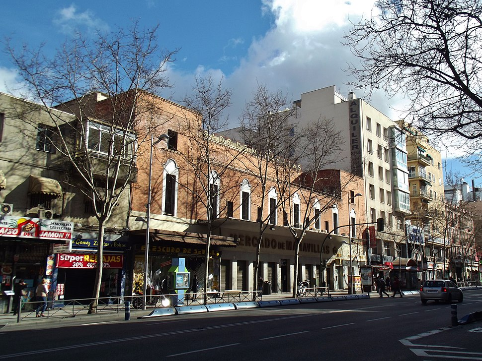 Mercado de Maravillas, calle Bravo Murillo, Madrid