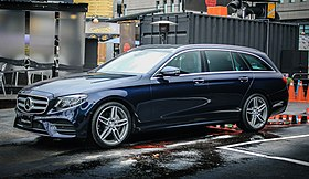 Mercedes-Benz E-Class (W213) Estate, 2017.jpg