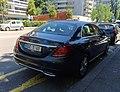 Mercedes Classe C Swiss diplomatic plate (Panama) (43266780262).jpg