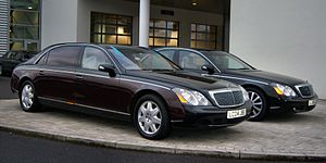 Otis (song) - The video features a Maybach 57 customized by West and Jay.