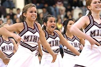 Mercer Island High School - Cheerleaders