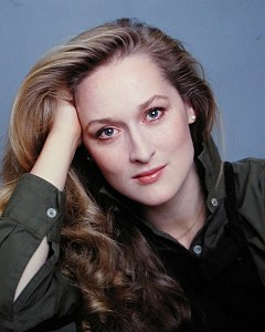 Meryl Streep has been nominated a record 17 times in the Best Actress category, winning twice for Sophie's Choice (1982) and as Margaret Thatcher in The Iron Lady (2011). Meryl Streep by Jack Mitchell.jpg