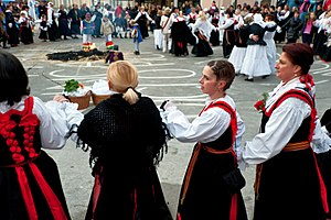 Croatian dances - Kolo from the Crikvenica area