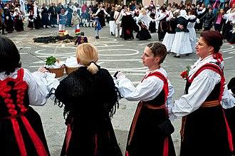 Croatian dances - Kolo from the Crikvenica area