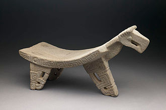 Metate - A Costa Rican metate with bird iconography at the Birmingham Museum of Art.