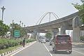 Metro Railway And Kolkata Gate Under Construction - Rabindra Tirtha Crossing - Rajarhat 2017-03-30 0845.JPG