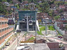 Image illustrative de l'article Metrocable (Medellín)