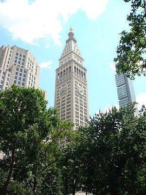 23rd Street (Manhattan) - Metropolitan Life Insurance Company Tower