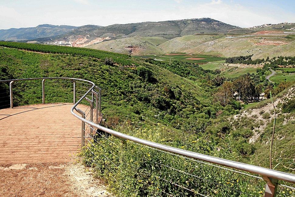 Metula-nahal-iyon-reserve-panorama