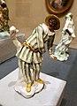 Mezzetin by Giuseppe Gricci, Capodimonte Manufactory, Naples, c. 1750, soft-paste porcelain, colored enamel, gilt - Museum of Fine Arts, Boston - 20180922 163110.jpg