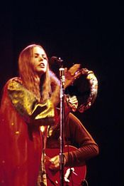 Philips performing with the Mamas & the Papas at the Monterey Pop Festival, 1967
