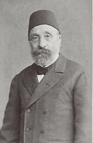 Midhat Pasha - An old photograph of Midhat Pasha.