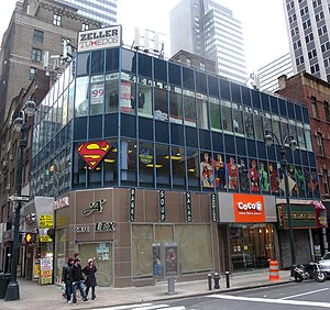 A Midtown Comics store at 45th and Lexington Avenue in Manhattan