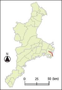 Mie Prefectural route 61 Isobe-Daio Line.png