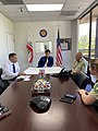 Mike Garcia meets with Forest Service representatives.jpg
