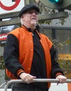 Mike Krukow - Image: Mike Krukow at 2012 Giants victory parade