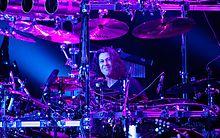 Mike Mangini in concerto a Mosca il 12 luglio 2011