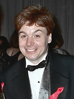 Mike Myers Canadian-British-American actor, comedian, singer, screenwriter and film producer