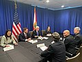 Mike Pence and Nunez meeting on COVID-19.jpg