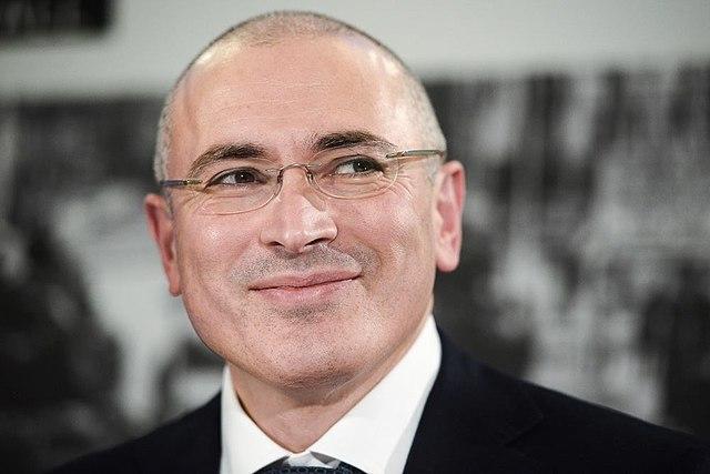 Михаил Ходорковский на первой пресс-конференции после своего освобождения, 22 декабря 2013