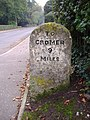 Milestones on the A148 22nd October 2007 (5).JPG