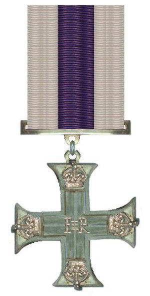 Art Duncan - Image: Military Cross