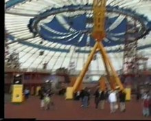 File:Millennium Dome entrance area (London) mid-2000.ogv