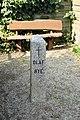 Mindesten for Olaf Rye - på stedet hvor han blev skudt.jpg