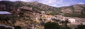 Sardinian people - Montevecchio mine