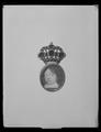 Miniatyrporträtt av konung Karl X Gustav av Sverige (1622-1660), ca 1650 - Livrustkammaren - 19430.tif