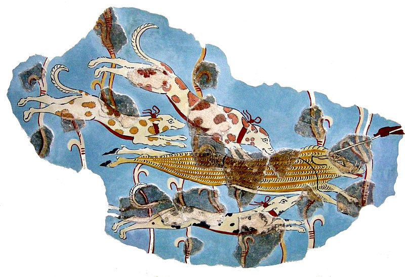 Soubor:Minoan frescos in the National Archaeological Museum in Athens 01.JPG