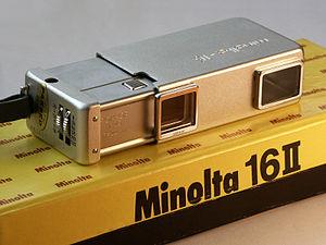 Minolta 16 - Minolta 16 II, 1960
