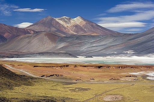 Miscanti Lagoon near San Pedro de Atacama Chile Luca Galuzzi 2006