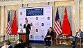 Mnuchin, Ross and Wang at 2017 US-China CED.jpg