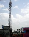 Mobile tower on the building.JPG