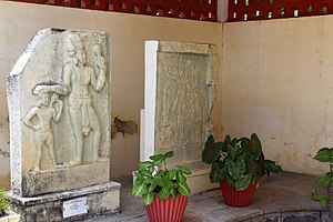 Amaravati - Stone carvings of Amaravathi Kings