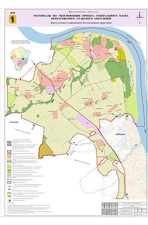 сельское поселение, карта