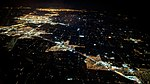 Modesto, Salida, Ripon, Manteca, Stockton, Lodi, Sacramento night aerial.jpg