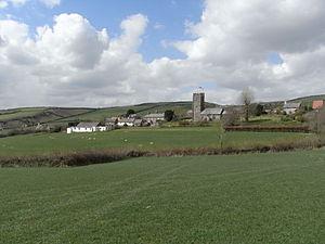 Molland - Image: Molland Panorama