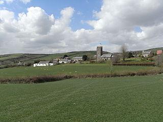 Molland Human settlement in England