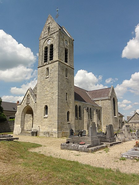 Monampteuil (Aisne) église