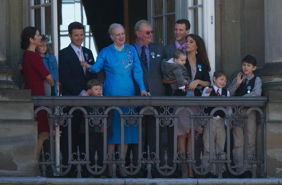 Monarchy Of Denmark April 2010 royal family