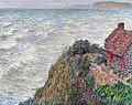 Monet w 741 the customs house at pourville.jpg
