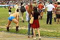 Mongolskie zapasy na stadionie w Ułan Bator 05.JPG