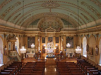 Church of La Visitation-de-la-Bienheureuse-Vierge-Marie - The interior