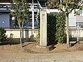 Monument Ibaraki Hyakkei At JR Yuki Station.JPG