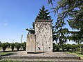 Monumento ai caduti 1, all'esterno del cimitero monumentale di Massa Lombarda.jpg