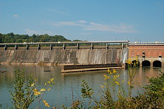 Morgan Falls Dam - Morgan Falls Dam