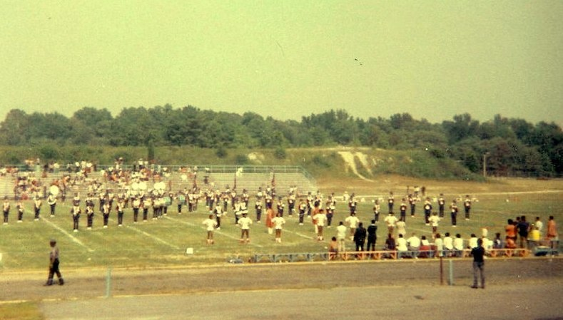 Morgan State University Marching Band 1977